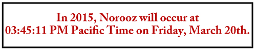 Norooz Date Header Updated
